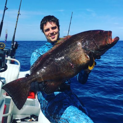 yellow fin grouper caught in Puerto Rico